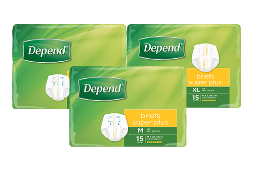depend briefs super plus product image